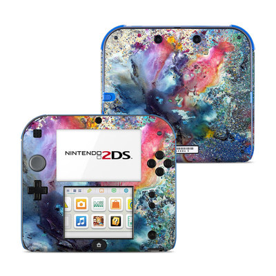 Nintendo 2DS Skin - Cosmic Flower