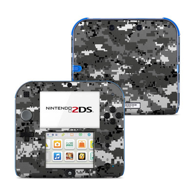 Nintendo 2DS Skin - Digital Urban Camo
