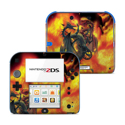 Nintendo 2DS Skin - Dragon Wars