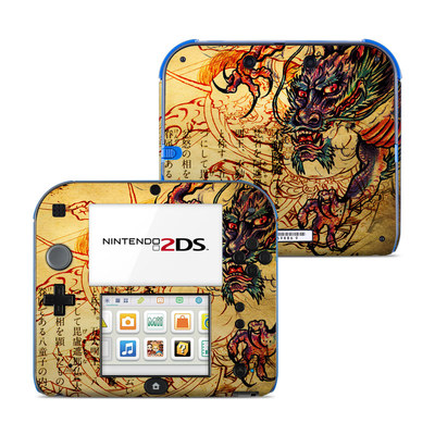 Nintendo 2DS Skin - Dragon Legend