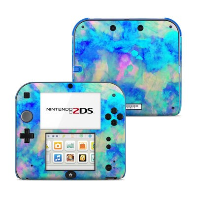 Nintendo 2DS Skin - Electrify Ice Blue