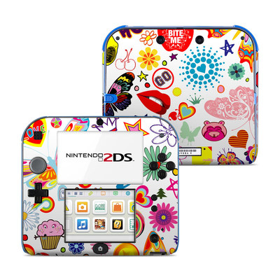 Nintendo 2DS Skin - Eye Candy