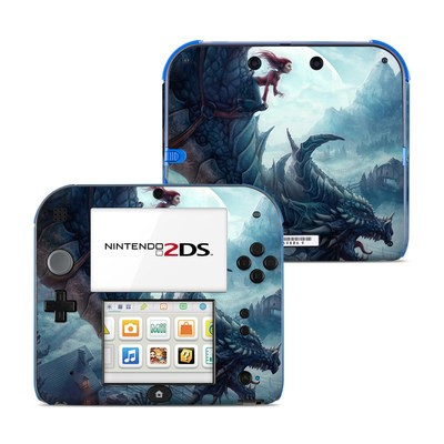 Nintendo 2DS Skin - Flying Dragon