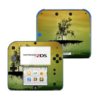 Nintendo 2DS Skin - Flying Tree Amber