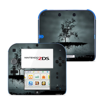 Nintendo 2DS Skin - Flying Tree Black