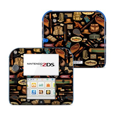Nintendo 2DS Skin - Gone Fishing