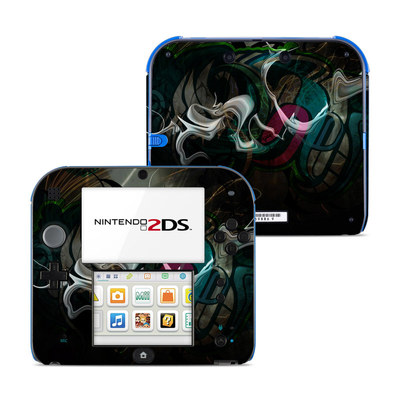 Nintendo 2DS Skin - Graffstract