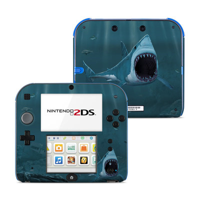 Nintendo 2DS Skin - Great White