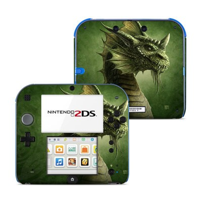 Nintendo 2DS Skin - Green Dragon