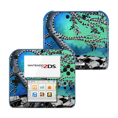 Nintendo 2DS Skin - Haunted Tree