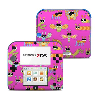 Nintendo 2DS Skin - Kawaii Bug