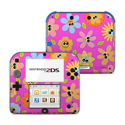 Nintendo 2DS Skin - Kawaii Flower