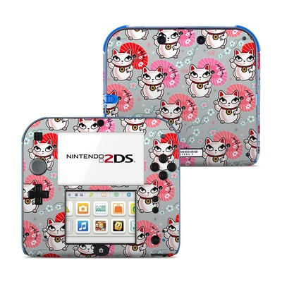 Nintendo 2DS Skin - Kyoto Kitty