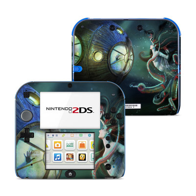 Nintendo 2DS Skin - 20000 Leagues