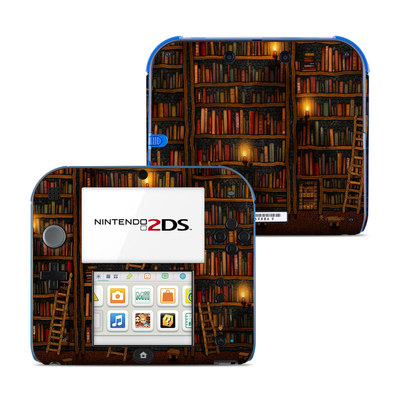 Nintendo 2DS Skin - Library