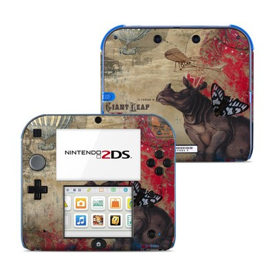 Nintendo 2DS Skin - Leap Of Faith