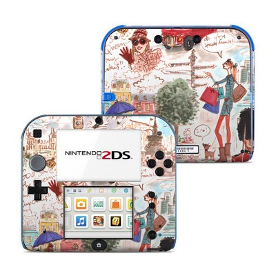 Nintendo 2DS Skin - London