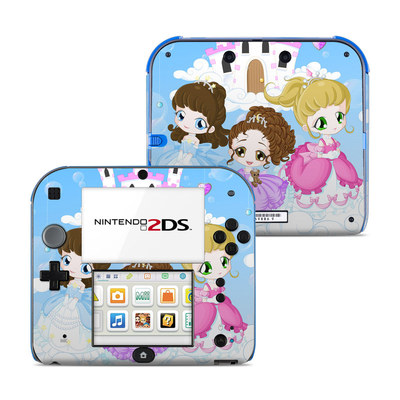 Nintendo 2DS Skin - Little Princesses