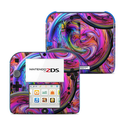 Nintendo 2DS Skin - Marbles