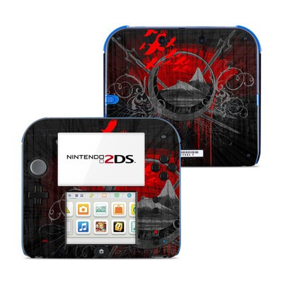 Nintendo 2DS Skin - Mount Doom