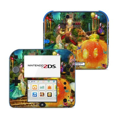Nintendo 2DS Skin - Midnight Fairytale