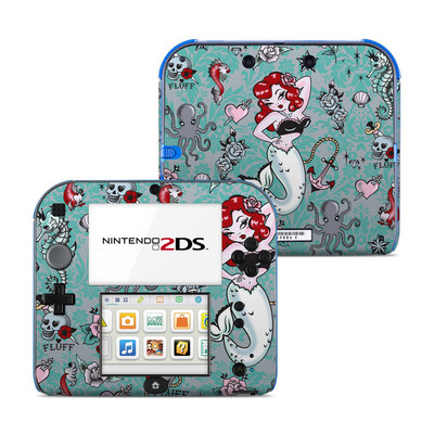 Nintendo 2DS Skin - Molly Mermaid