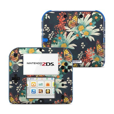 Nintendo 2DS Skin - Monarch Grove