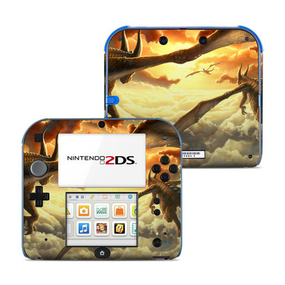 Nintendo 2DS Skin - Over the Clouds