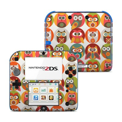 Nintendo 2DS Skin - Owls Family