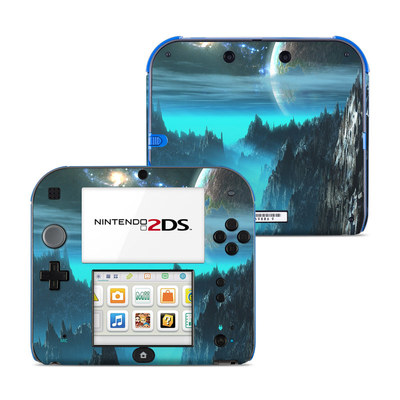 Nintendo 2DS Skin - Path To The Stars