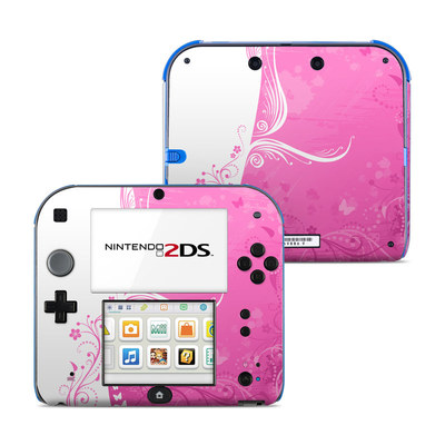 Nintendo 2DS Skin - Pink Crush