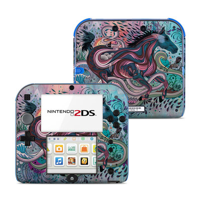 Nintendo 2DS Skin - Poetry in Motion