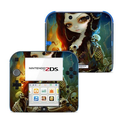 Nintendo 2DS Skin - Princess of Bones