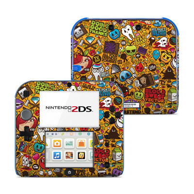 Nintendo 2DS Skin - Psychedelic