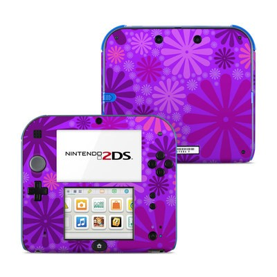 Nintendo 2DS Skin - Purple Punch