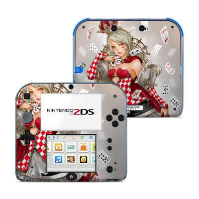 Nintendo 2DS Skin - Queen Of Cards