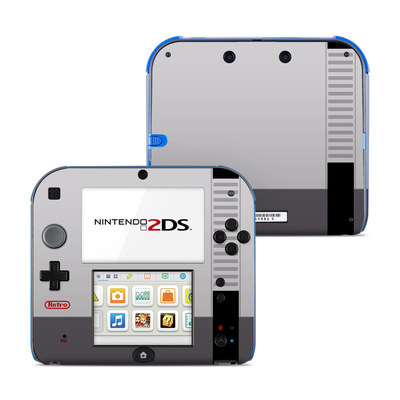 Nintendo 2DS Skin - Retro Horizontal