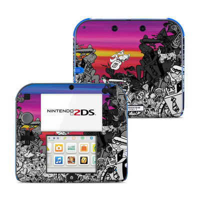 Nintendo 2DS Skin - Robo Fight