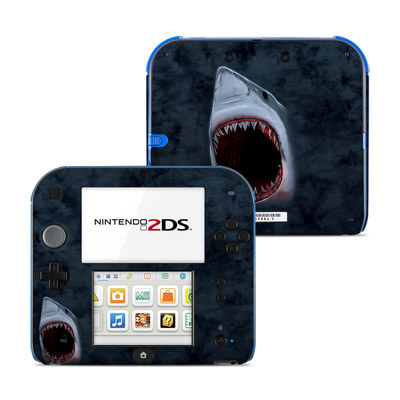Nintendo 2DS Skin - Shark