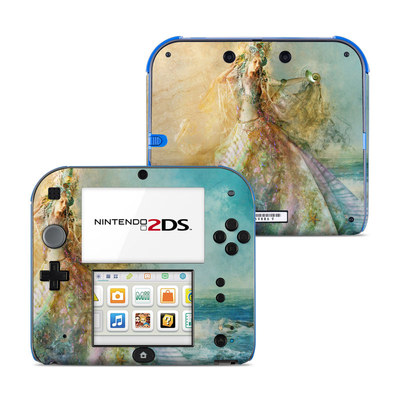Nintendo 2DS Skin - The Shell Maiden