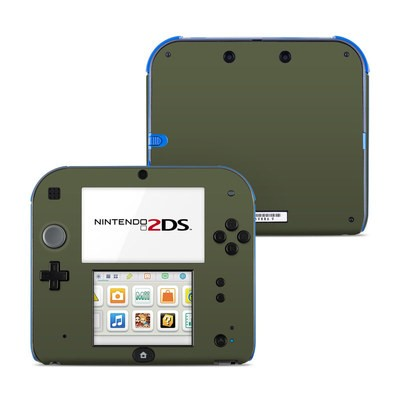 Nintendo 2DS Skin - Solid State Olive Drab