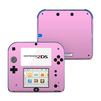 Nintendo 2DS Skin - Solid State Pink
