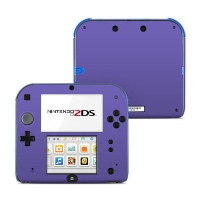 Nintendo 2DS Skin - Solid State Purple