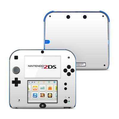 Nintendo 2DS Skin - Solid State White