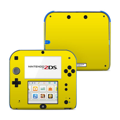 Nintendo 2DS Skin - Solid State Yellow