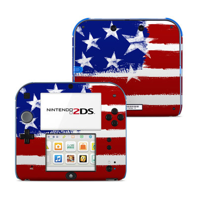 Nintendo 2DS Skin - Stars + Stripes