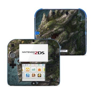 Nintendo 2DS Skin - Stone Dragon