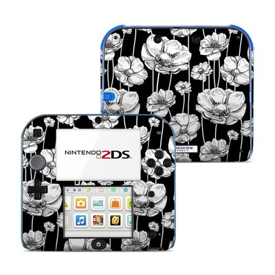 Nintendo 2DS Skin - Striped Blooms
