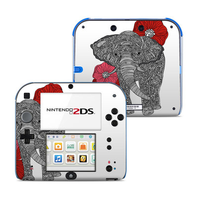 Nintendo 2DS Skin - The Elephant