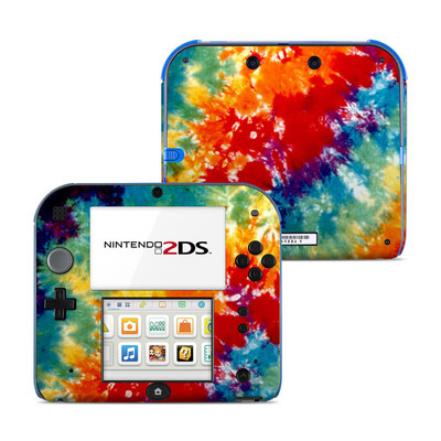 Nintendo 2DS Skin - Tie Dyed